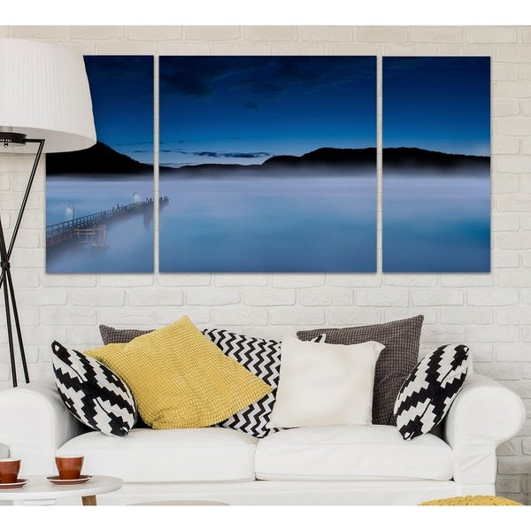 Wexford Home 'Scene on the Water III' Canvas Premium Multi Piece Art