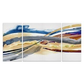 Wexford Home 'Soundwaves II' Canvas Premium Multi Piece Art