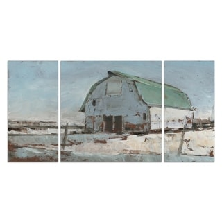 Wexford Home 'Plein Air Barn I' Premium Multi Piece Gallery-wrapped Art Set