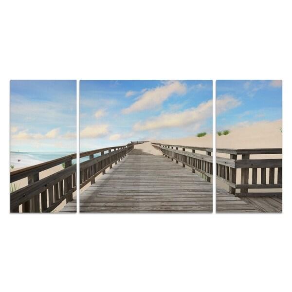 'Beach Photography XI' Canvas Premium Multi-piece Art