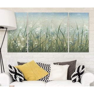 Wexford Home 'Bliss I' Canvas Wall Art (Set of 3)