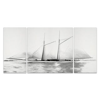 Wexford Home 'Sailing Yacht I' 3-piece Wall Art
