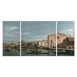 'Venice the Grand Canal' Canvas Premium Multi-piece Art