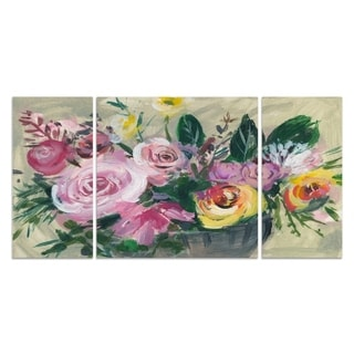 Wexford Home 'Fleur de Matin I' Canvas Premium Multi Piece Art