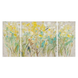 Wexford Home 'Floral Cluster I' Premium Multi Piece Gallery-wrapped Canvas Art Print