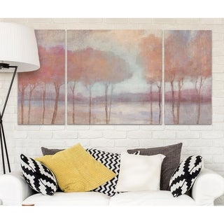 'Blushing Trees' Canvas Wall Art
