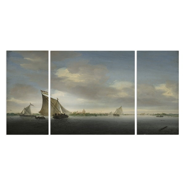 Wexford Home 'After the Rain' Canvas Wall Art (Set of 3)