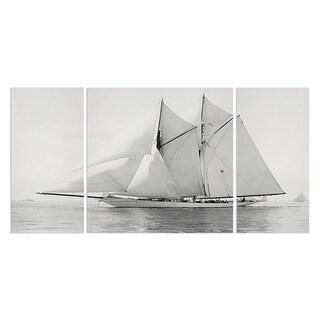 Wexford Home 'Sailing Yacht IV' Canvas Premium Multi Piece Art