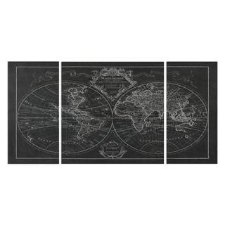 Wexford Home 'Monde Map' Premium Multi-piece Art