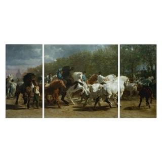 'The Horse Fair' Premium Multi-piece Art