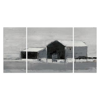Wexford Home 'Dynamic Barn II' 3-piece Wall Art