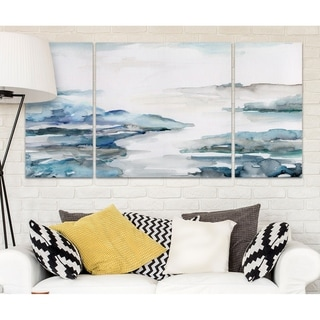 Wexford Home 'Estuary II' Canvas Wall Art