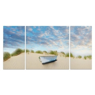 Wexford Home 'Beach Photography III' 3-piece Wall Art