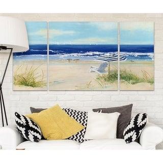 Wexford Home 'Beach Life II' A Premium Multipiece Art (Set of 3)