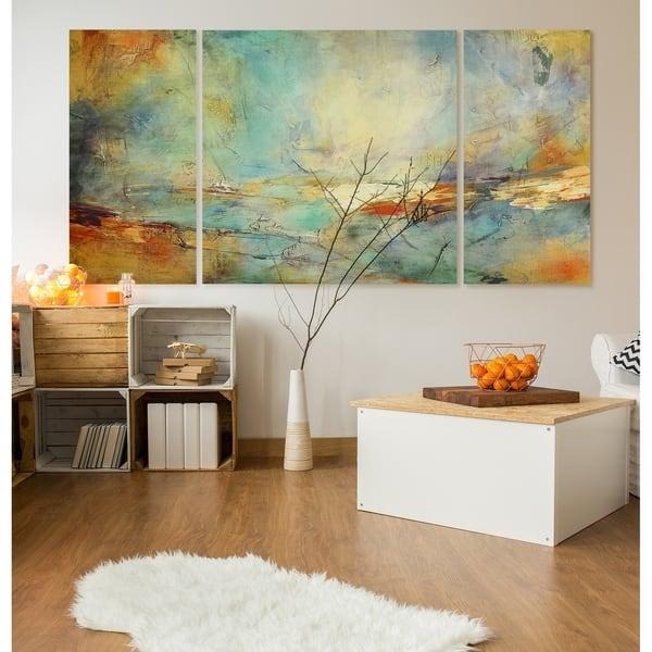 Shop Eternidad 3 Piece Canvas Wall Art On Sale Overstock 27540719