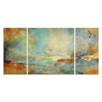 'Eternidad' - 3-piece Canvas Wall Art