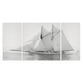Wexford Home 'Sailing Yacht IV' Premium Canvas Multi-piece Hand-wrapped Giclee Wall Art