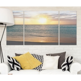 Wexford Home 'Sunset Reflection' A Premium Multi-Piece Art