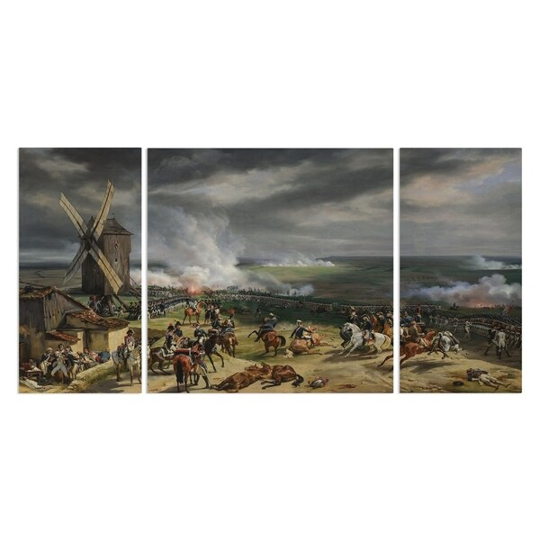 Wexford Home 'Battle of Valmy' 3-piece Wall Art