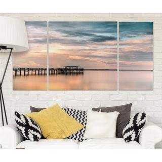 Wexford Home 'Harbor Sunset' Canvas Premium Multi Piece Art