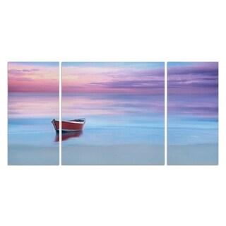 Wexford Home 'Beach Photography II' Premium 3-piece Art Set