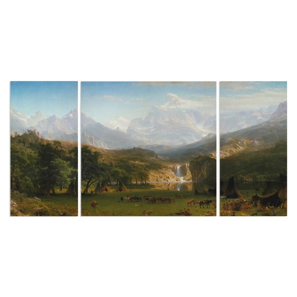 Wexford Home 'The Rocky Mountains' A Premium Multi Piece Art