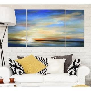 Wexford Home 'April Sky II' 3-piece Wall Art Set