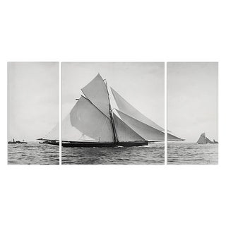 Wexford Home 'Sailing Yacht V' A Premium 3-piece Art Set