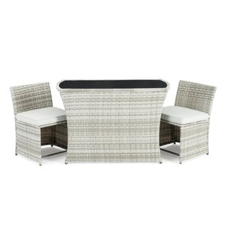 Exum 3pc Cafe Set in Grey by Sego Lily
