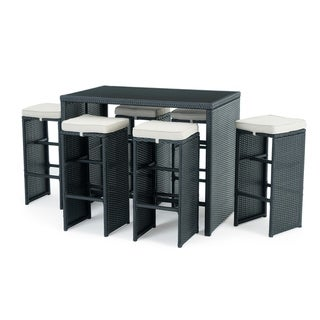 Quin 7pc Cafe Set in Black by Sego Lily