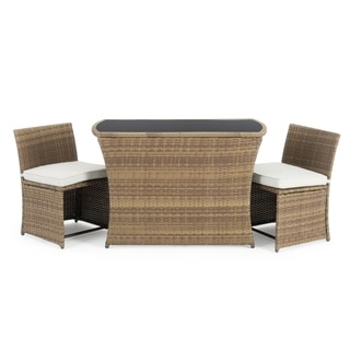 Exum 3pc Cafe Set in Brown by Sego Lily