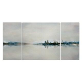 Wexford Home 'Calm Morning' Canvas Premium Multi Piece Art