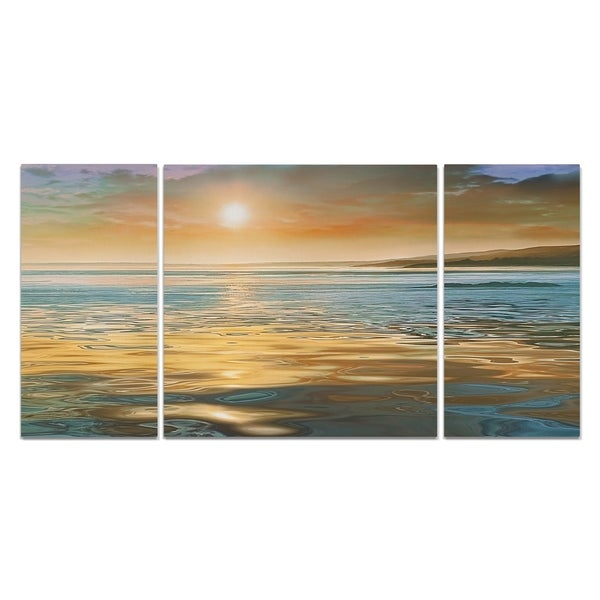 Wexford Home 'Evening Calm' Canvas Premium Multi Piece Art