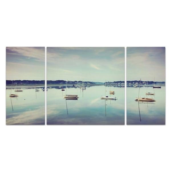 Wexford Home 'Cape Ann Marina' Premium Multi-piece Art