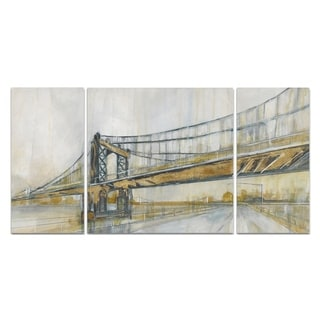 Wexford Home 'Brooklyn Rain' Canvas Premium Multi Piece Art