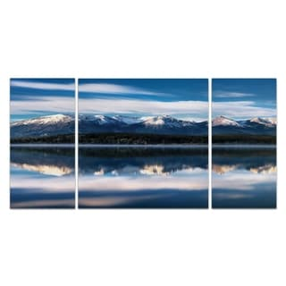 Pyramid Lake' A Premium Multi-piece Art  from Wexford Home