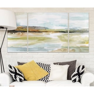 Wexford Home 'Faraway' Canvas Wall Art (Set of 3)