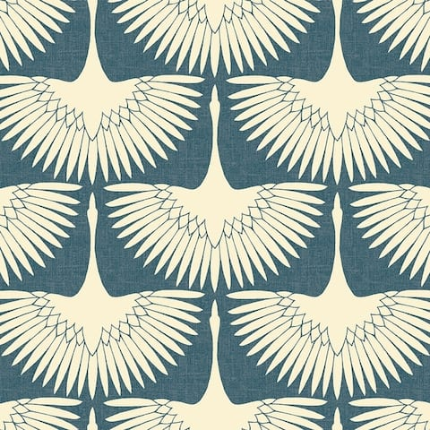 Feather Flock Peel and Stick Wallpaper