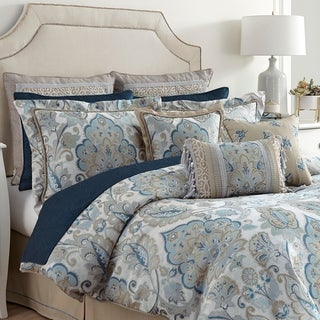 Croscill Emery Chenille 4 Piece Comforter Set
