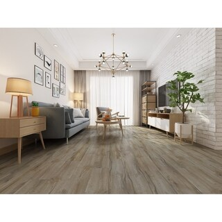 "7.68"" Wide Hazelnut Laminate Flooring (25.51 SF/Carton)"
