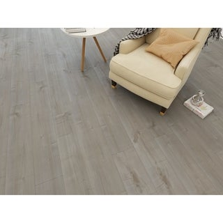 "7.68"" Wide Ash Laminate Flooring (20.40 SF/Carton)"