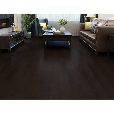 "6.83"" Wide Midnight Laminate Flooring (16.94 SF/Carton)"