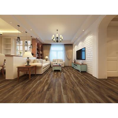 """7.68"""" Wide Mesquite Laminate Flooring (25.51 SF/Carton)"""