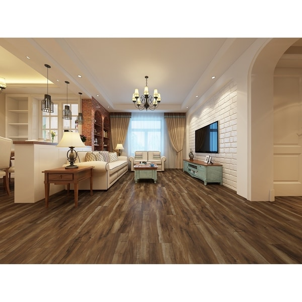 """7.68"""" Wide Mesquite Laminate Flooring (25.51 SF/Carton). Opens flyout."""