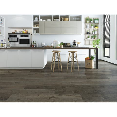 "7.68"" Wide Driftwood Laminate Flooring (20.40 SF/Carton)"