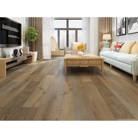 7.68-inch Sahara Laminate Flooring (20.40 SF/Carton)