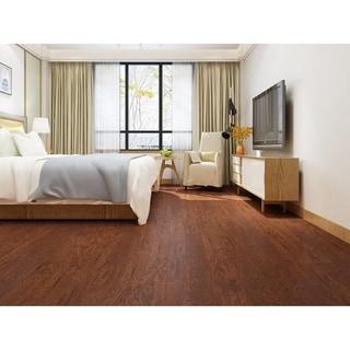 "4.96"" Wide Light Mocha Laminate Flooring (19.77 SF/Carton)"