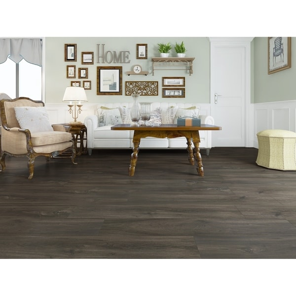 """7.68"""" Wide Storm Laminate Flooring (20.40 SF/Carton). Opens flyout."""
