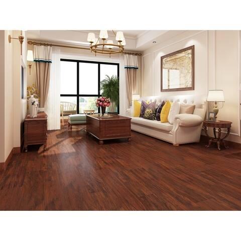 """7 3/4"""" Wide Newport Mahogany Laminate Flooring (25.51 SF/Carton)"""