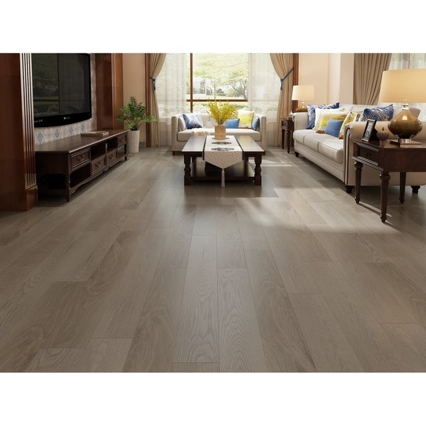 "7.68"" Wide Barnwood Laminate Flooring (20.40 SF/Carton)"